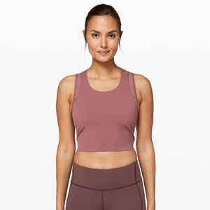 New Lululemon break free tank (nulux) size 4